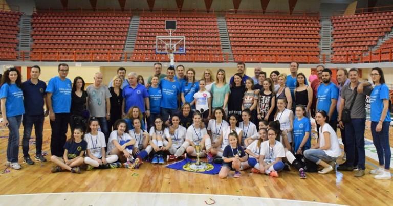 Συμμετοχή στο  Πανελλήνιο Τουρνουά Volley Παγκορασίδων.