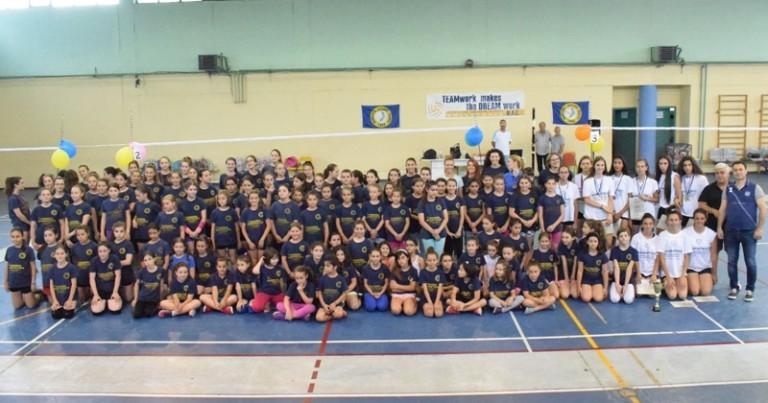 Λαμπερή η τελετή λήξης της Ακαδημιας Volley του Φιλαθλητικού Λάρισας