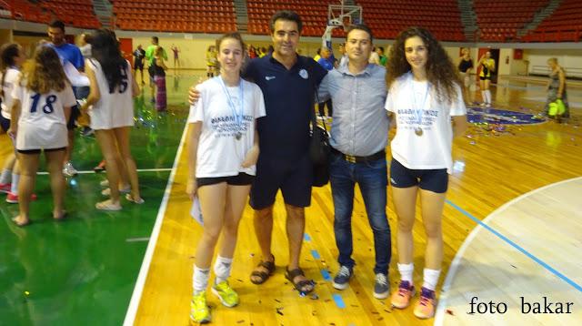 Στην 12αδα της Εθνικής παγκορασίδων Κλήθηκαν η Ελευθερία Γαργάλα και η Μαρίζα Βαϊοπούλου.