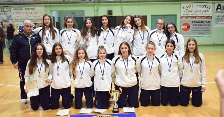 Έγινε η Κλήρωση του Πανελληνίου Πρωταθλήματος Νεανίδων.