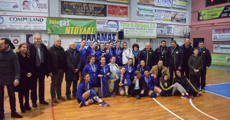 Κυπελλούχος ΕΣΠΕΚΕΛ 2018-2019 στο βόλεϊ Γυναικών ο Φιλαθλητικός Λάρισας.