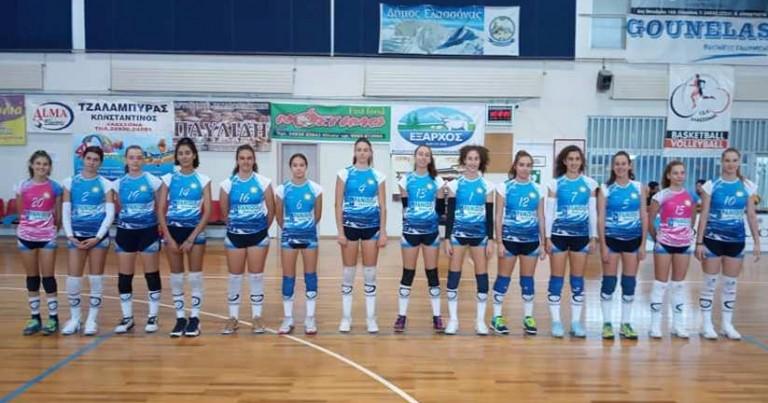 Νίκησαν και στην Ελασσόνα με 3-0 οι Κορασίδες του Φιλαθλητικού Λάρισας