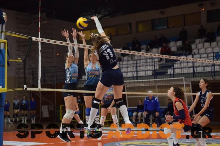 Η Γυναικεία Ομάδα του Φιλαθλητικού Νίκησε στην Αλεξανδρούπολη την Τοπική Νίκη με 3-1 σετ