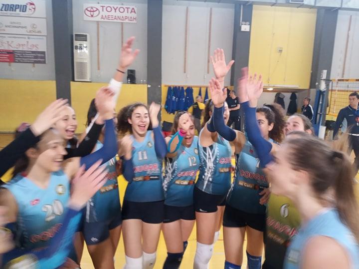Πρόκριση στα ημιτελικά του Πανελληνίου Νεανίδων (Κ20) για τον Φιλαθλητικό.