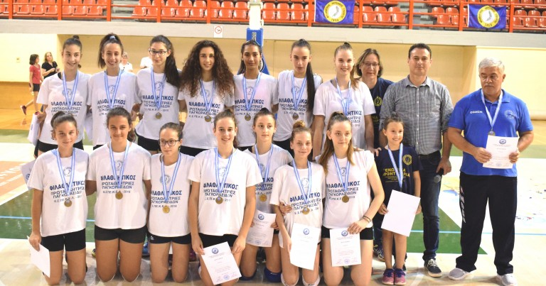 Στην 3η θέση στην Ελλάδα οι Παγκορασίδες του Φιλαθλητικού Λάρισας.