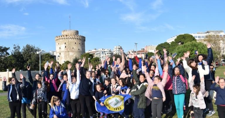 Σε τουρνουά μίνι βόλεϊ συμμετείχε η Ακαδημία βόλεϊ του Φιλαθλητικού στη Θεσσαλονίκη