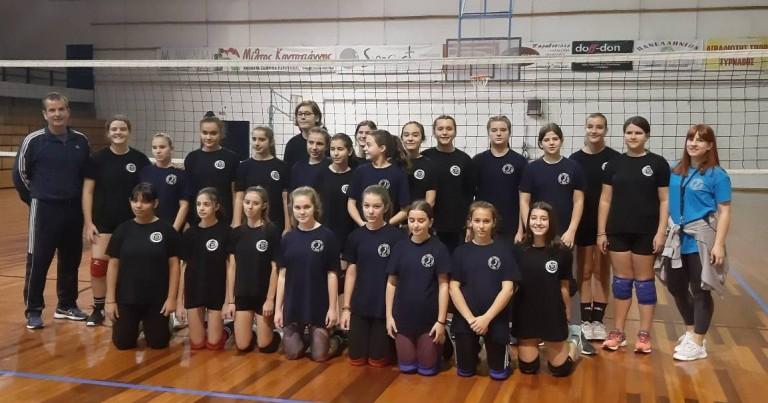 Φιλικοί Αγώνες Volley για την Ακαδημία του Φιλαθλητικού Λάρισας.