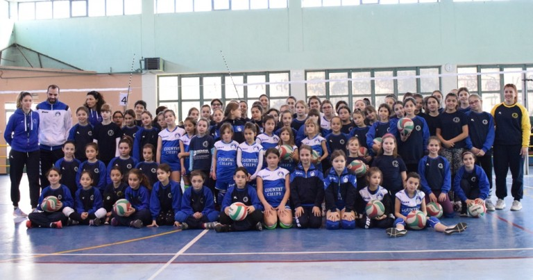 Τουρνουά mini volley του Φιλαθλητικού με τη συμμετοχή του Ηρακλή Θεσσαλονίκης.