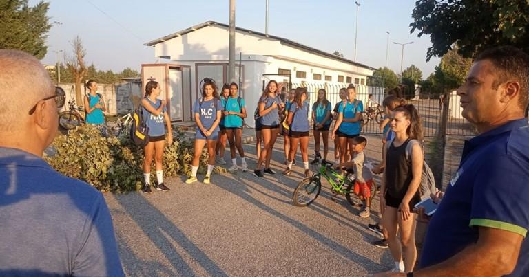 Ξεκίνησε η προετοιμασία για την γυναικεία ομάδα βόλεϊ του Φιλαθλητικού Λάρισας.